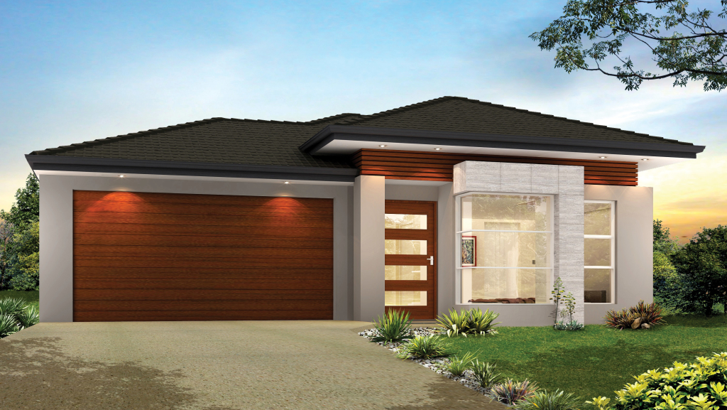 Single storey home designs chelbrooke homes for One storey modern house design